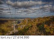 Купить «Bodetal im Herbst HarSeilbahn», фото № 27614990, снято 23 июля 2019 г. (c) PantherMedia / Фотобанк Лори