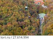 Купить «Bodetal im Herbst Harz», фото № 27614994, снято 23 июля 2019 г. (c) PantherMedia / Фотобанк Лори
