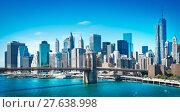 Купить «new york», фото № 27638998, снято 4 июня 2019 г. (c) PantherMedia / Фотобанк Лори