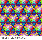 Купить «Abstract seamless pattern with cubes, can be used as background.», иллюстрация № 27639962 (c) PantherMedia / Фотобанк Лори