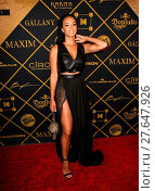 Купить «Maxim Hot 100 Party - Arrivals Featuring: Draya Michele Where: Los Angeles, California, United States When: 30 Jul 2016 Credit: FayesVision/WENN.com», фото № 27647926, снято 30 июля 2016 г. (c) age Fotostock / Фотобанк Лори