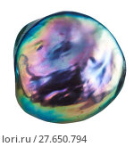 Купить «cabochon from iridescent nacre gemstone isolated», фото № 27650794, снято 27 мая 2019 г. (c) PantherMedia / Фотобанк Лори