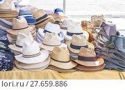 Купить «Hats for sale», фото № 27659886, снято 17 октября 2018 г. (c) PantherMedia / Фотобанк Лори