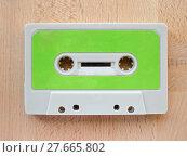 Купить «Tape cassette», фото № 27665802, снято 20 января 2019 г. (c) PantherMedia / Фотобанк Лори