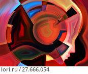 Купить «Evolving Inner Geometry», иллюстрация № 27666054 (c) PantherMedia / Фотобанк Лори