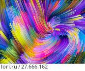 Купить «Conceptual Color Vortex», фото № 27666162, снято 21 ноября 2018 г. (c) PantherMedia / Фотобанк Лори