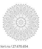 Купить «mandala illustration», иллюстрация № 27670654 (c) PantherMedia / Фотобанк Лори