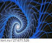 Купить «Abstract digitally generated image mystic spiral», фото № 27671526, снято 15 декабря 2018 г. (c) PantherMedia / Фотобанк Лори