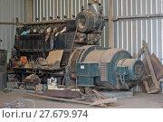 Купить «old tools of the goldmine of Leonora exposed for the tourists», фото № 27679974, снято 23 октября 2018 г. (c) PantherMedia / Фотобанк Лори