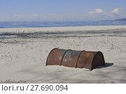 Купить «Old Rusty Oil Barrel», фото № 27690094, снято 19 февраля 2019 г. (c) PantherMedia / Фотобанк Лори