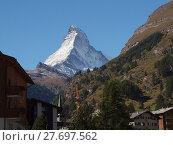 Купить «alps switzerland valais matterhorn zermatt», фото № 27697562, снято 21 сентября 2019 г. (c) PantherMedia / Фотобанк Лори