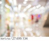 Купить «Abstract background of shopping mall, shallow DOF», фото № 27699134, снято 17 июня 2019 г. (c) PantherMedia / Фотобанк Лори