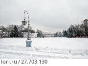 Купить «Масляный луг. Елагин остров. Санкт-Петербург», фото № 27703130, снято 9 февраля 2018 г. (c) Румянцева Наталия / Фотобанк Лори