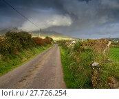 Купить «Approaching storm somewhere on the Dingle peninsula in Ireland», фото № 27726254, снято 26 марта 2019 г. (c) PantherMedia / Фотобанк Лори
