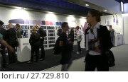 Купить «Pavilion ArtWizz at IFA, Messe, Berlin, Germany», видеоролик № 27729810, снято 25 мая 2017 г. (c) BestPhotoStudio / Фотобанк Лори