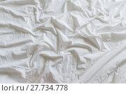 Купить «wrinkled canvas cloth texture background», фото № 27734778, снято 19 августа 2018 г. (c) PantherMedia / Фотобанк Лори