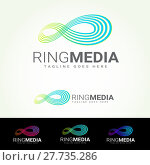 Купить «Ring Media Logotype», фото № 27735286, снято 22 апреля 2018 г. (c) PantherMedia / Фотобанк Лори