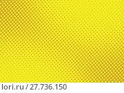 Купить «retro comic yellow background raster gradient halftone», фото № 27736150, снято 19 февраля 2019 г. (c) PantherMedia / Фотобанк Лори