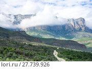 Baksan gorge in the Caucasus mountains in Russia (2016 год). Стоковое фото, фотограф Юлия Белоусова / Фотобанк Лори