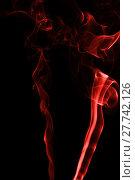 Купить «Capturing the smoke from an incense stick and changing the colours», фото № 27742126, снято 21 октября 2019 г. (c) PantherMedia / Фотобанк Лори