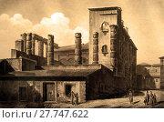 Купить «Engraved  of Diana Temple in 1820», фото № 27747622, снято 16 декабря 2018 г. (c) PantherMedia / Фотобанк Лори