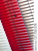 Купить «Various Venetian blinds», фото № 27750578, снято 23 января 2019 г. (c) PantherMedia / Фотобанк Лори