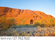 Купить «Uluru Kata Tjuta National Park (Ayers Rock)», фото № 27762922, снято 25 мая 2019 г. (c) age Fotostock / Фотобанк Лори
