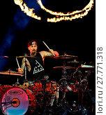 Blink-182 performs at Perfect Vodka Amphitheatre (2016 год). Редакционное фото, фотограф JLN Photography / WENN.com / age Fotostock / Фотобанк Лори