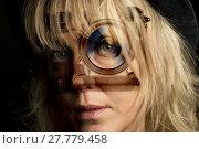 Купить «double exposure women face camera», фото № 27779458, снято 22 октября 2019 г. (c) PantherMedia / Фотобанк Лори