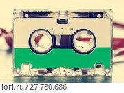Купить «Vintage audio cassette», фото № 27780686, снято 20 января 2019 г. (c) PantherMedia / Фотобанк Лори