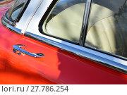 Купить «moulding doorknob old timer autotürgriff», фото № 27786254, снято 20 августа 2018 г. (c) PantherMedia / Фотобанк Лори