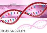 Купить «DNA», фото № 27798378, снято 24 марта 2019 г. (c) PantherMedia / Фотобанк Лори