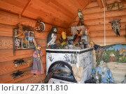 Купить «Rebuilding the image of the internal decoration of the house of Baba Yaga», фото № 27811810, снято 23 мая 2019 г. (c) PantherMedia / Фотобанк Лори