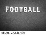 Купить «Football background», фото № 27825470, снято 19 марта 2019 г. (c) PantherMedia / Фотобанк Лори
