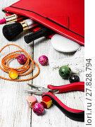 Купить «needlework beading pliers», фото № 27828794, снято 24 января 2019 г. (c) PantherMedia / Фотобанк Лори