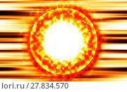 Купить «Burning sun protuberance coronas illustration background», фото № 27834570, снято 19 марта 2019 г. (c) PantherMedia / Фотобанк Лори