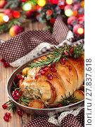 Купить «Turkey  breast for holidays.», фото № 27837618, снято 27 июня 2019 г. (c) PantherMedia / Фотобанк Лори