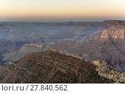 Купить «spectacular sunset at Grand canyon in Arizona», фото № 27840562, снято 22 февраля 2018 г. (c) PantherMedia / Фотобанк Лори