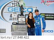 Купить «NASCAR: May 07 GEICO 500», фото № 27848422, снято 23 сентября 2018 г. (c) easy Fotostock / Фотобанк Лори