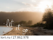 Купить «Let It Go message», фото № 27862978, снято 19 октября 2019 г. (c) PantherMedia / Фотобанк Лори