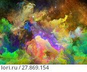 Купить «Beyond Space Nebula», фото № 27869154, снято 20 июля 2018 г. (c) PantherMedia / Фотобанк Лори