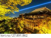 Купить «Kiyomizu-dera Temple», фото № 27891862, снято 20 июля 2019 г. (c) PantherMedia / Фотобанк Лори