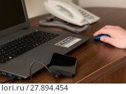 Купить «computer laptop notebook computers backup», фото № 27894454, снято 27 марта 2019 г. (c) PantherMedia / Фотобанк Лори