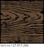 Купить «Brown wood texture background in square format», фото № 27917286, снято 18 октября 2018 г. (c) PantherMedia / Фотобанк Лори
