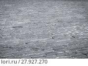 Купить «Stone road texture», фото № 27927270, снято 22 июля 2018 г. (c) PantherMedia / Фотобанк Лори