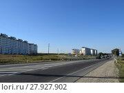 Купить «Housing for people affected by floods in Krymsk.», фото № 27927902, снято 16 июля 2018 г. (c) PantherMedia / Фотобанк Лори