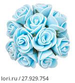 Купить «flower head isolated, beautiful decoration,top view», фото № 27929754, снято 18 февраля 2019 г. (c) PantherMedia / Фотобанк Лори