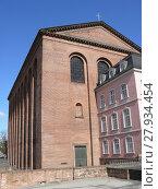 Купить «constantine basilica in trier», фото № 27934454, снято 27 мая 2019 г. (c) PantherMedia / Фотобанк Лори