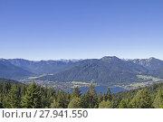 Купить «view from neureuth to tegernsee», фото № 27941550, снято 23 марта 2019 г. (c) PantherMedia / Фотобанк Лори