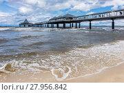 Купить «the pier in heringsdorf on the island usedom», фото № 27956842, снято 20 февраля 2019 г. (c) PantherMedia / Фотобанк Лори